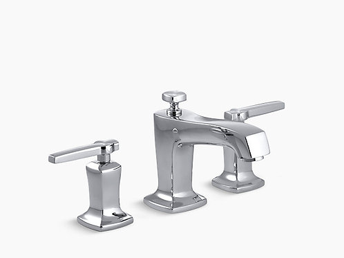 Kohler Widespread Lavatory Faucet In Chrome Finish
