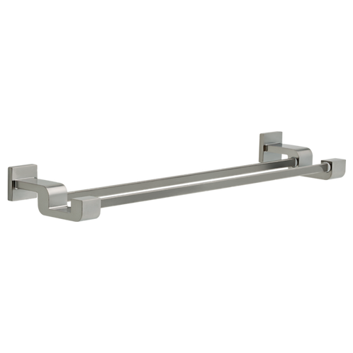 Delta Double Towel Bar In Stainless Steel Finish
