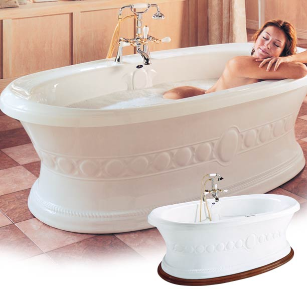 FREESTANDING TRADITIONAL TUB