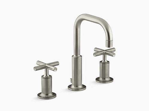 Kohler Widespread Bathroom Sink Faucet In Brushed Nickel