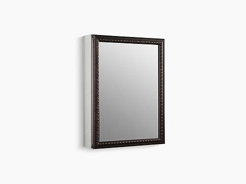 "Kohler 20"" W x 26"" H Medicine Cabinet With Oil-Rubbed Bronze Framed Mirror door"