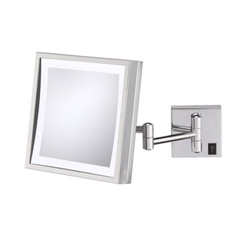 Aptations Wall Mounted Magnification Mirror in BN