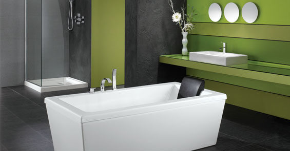 FREESTANDING CONTEMPORARY TUB
