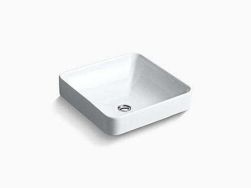 Kohler White Vessel/Drop In Lav Sink