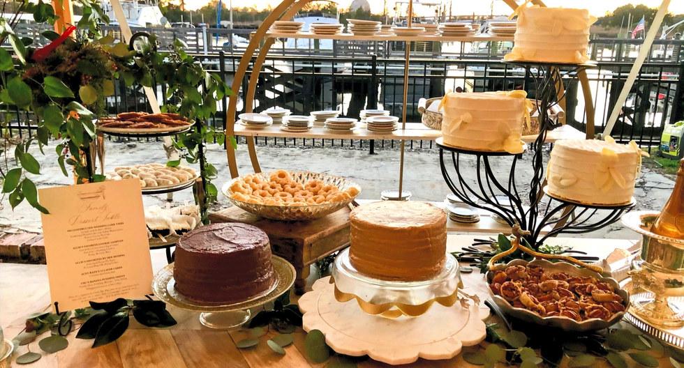 Charleston Pops Dessert Bar