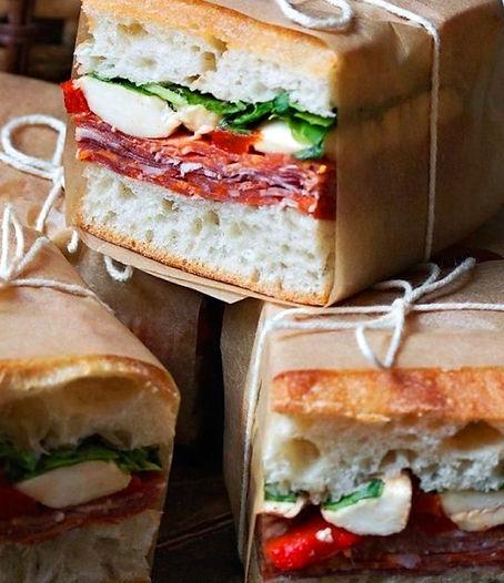 Panini Sandwich The Front Porch