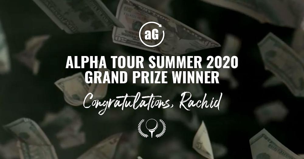 golf tournament grand prize