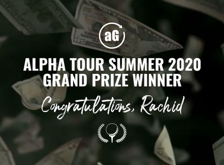 Alpha Tour Summer 2020: Grand Prize Winner