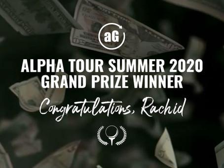 Alpha Tour Summer 2020: Grand Prize Winner