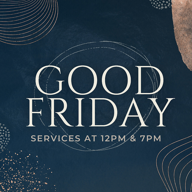 2021 Good Friday Services Information