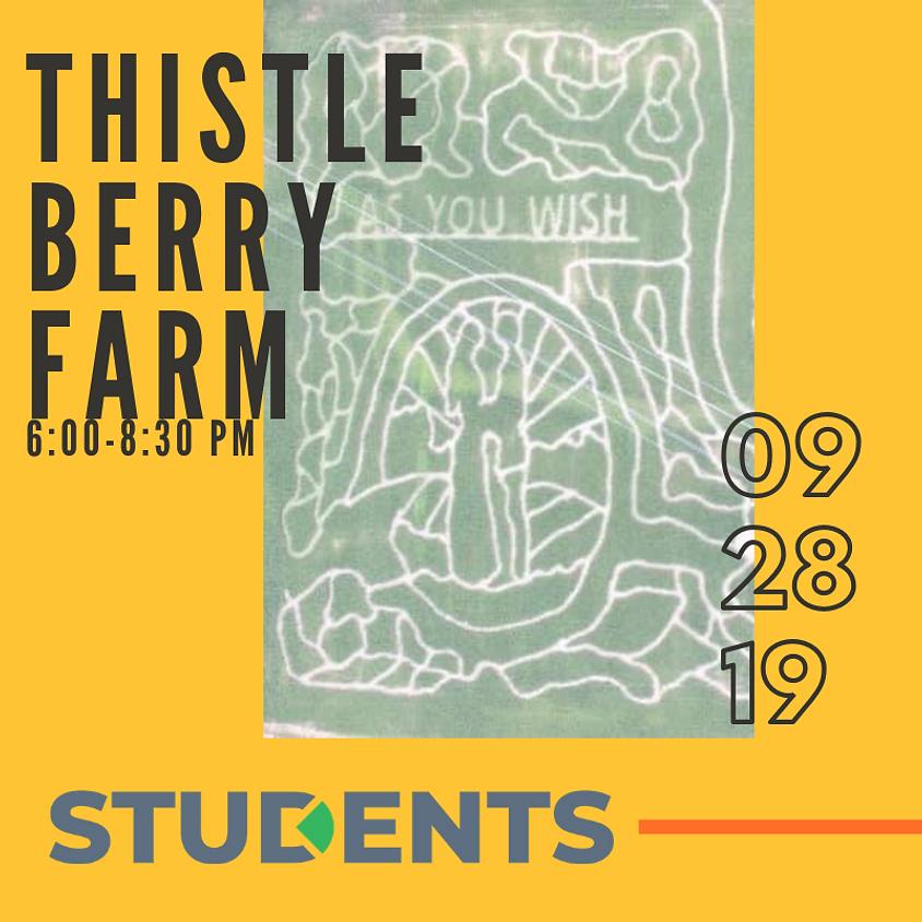 Student Thistleberry Farm Trip