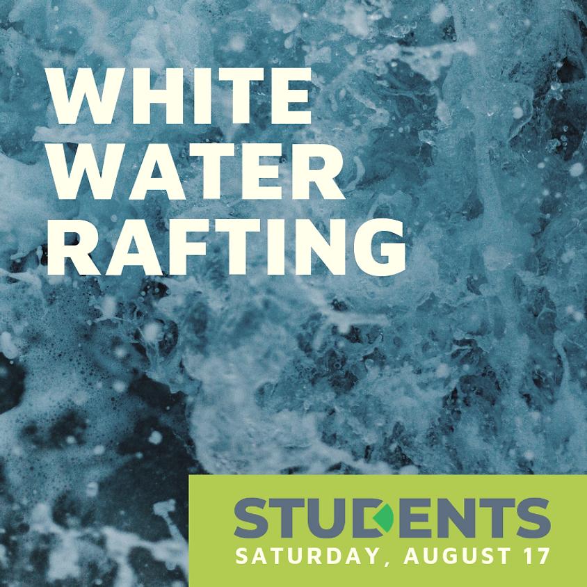 Student White Water Rafting