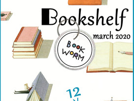 My Virtual Bookshelf - exciting TBR additions in March