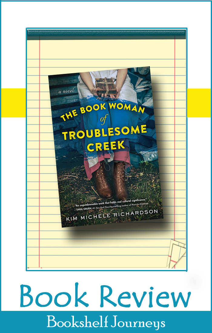 The Book Woman of Troublesome Creek book cover art