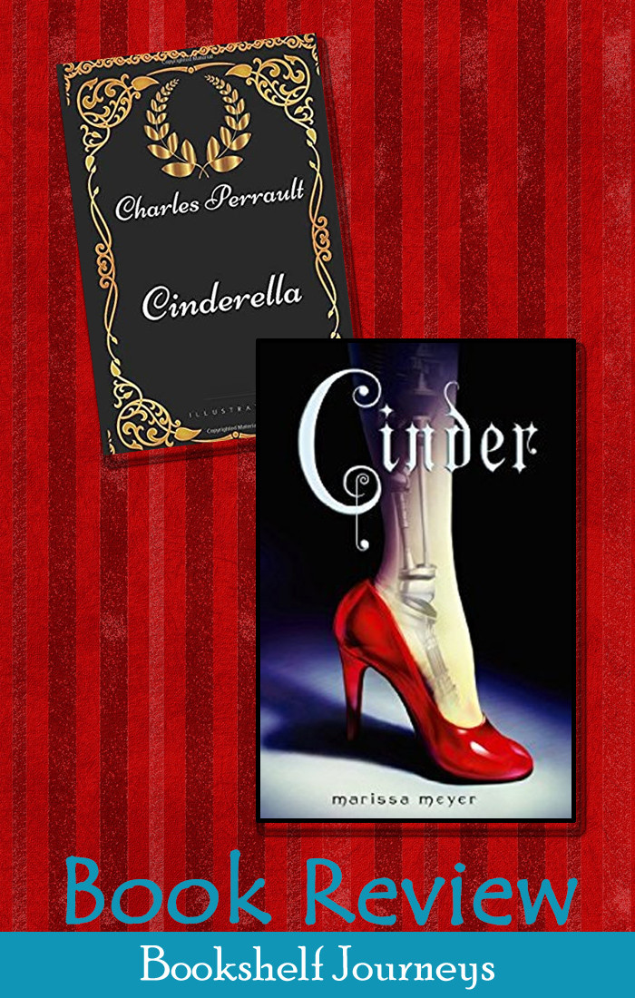 Cinder vs Cinderella book cover art