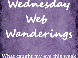 Wednesday Web Wandering #1