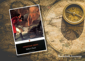 The classic story of Gulliver and his imaginative world adventures