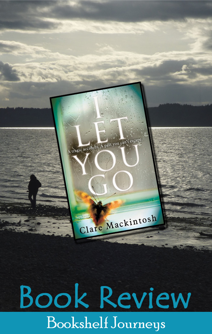 I Let You Go book cover over beach photo by Terrie Purkey