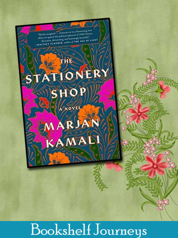 The Stationery Shop by Marjan Kamali book cover