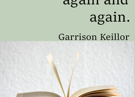 Quote by Garrison Keillor