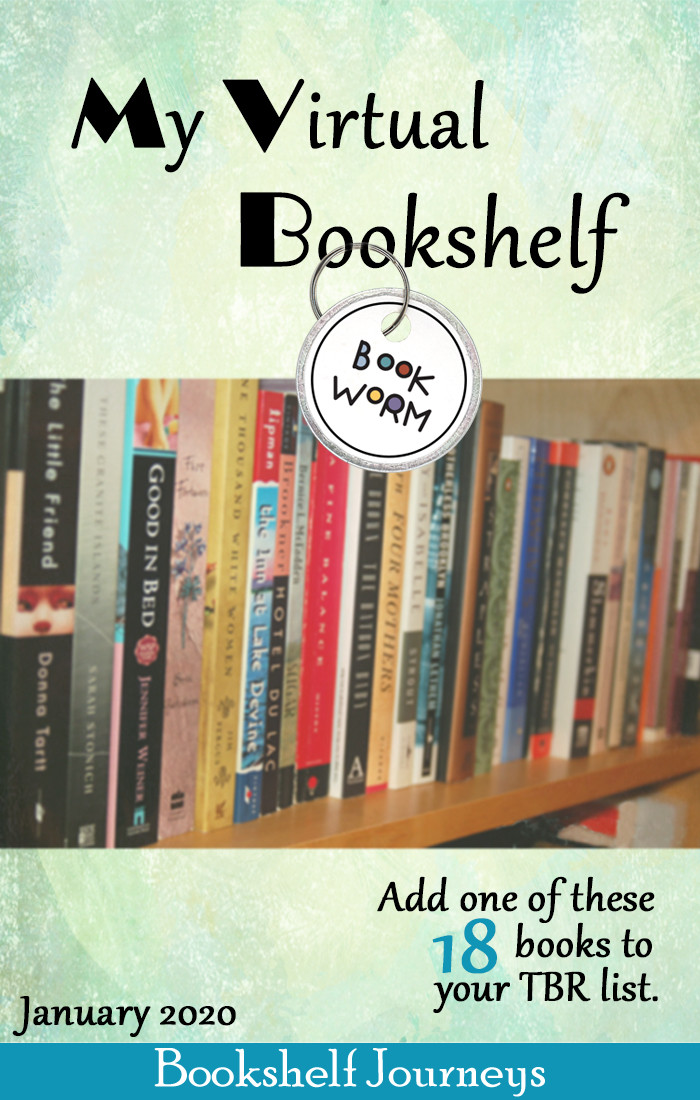 BOOKSHELF JOURNEYS | My Virtual Bookshelf -what's added to my TBR list?