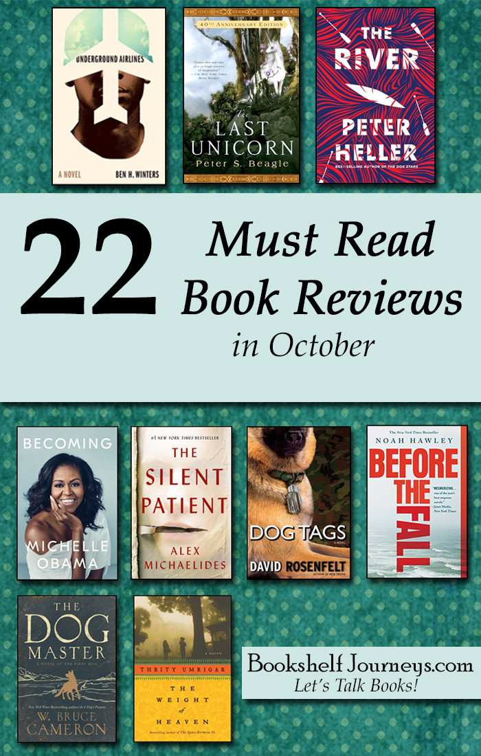 Pinterest image of book covers 22 Must Read Book Reviews