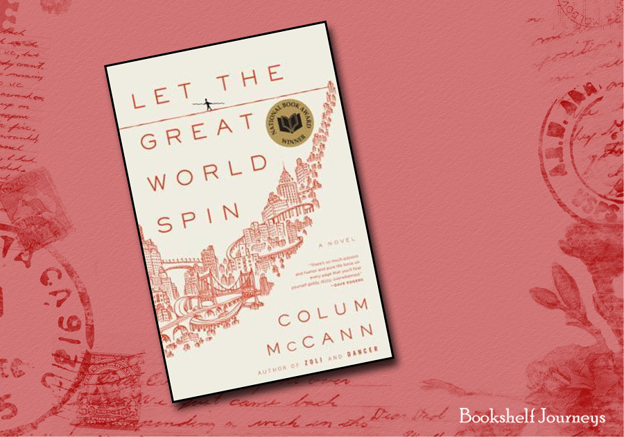 Let the Great World Spin book cover art