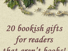 Christmas Gift Ideas for the reader on your list (that isn't books!)