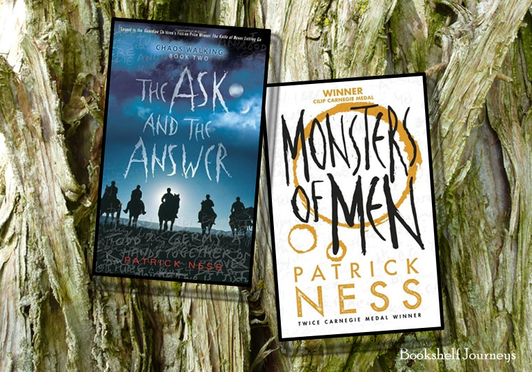 The Ask and The Answer book cover; Monsters of Men book cover