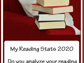 End of Year Reading Stats - because it's fun to track this minutiae!