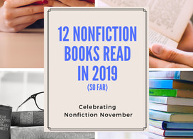 A recap of the nonfiction read so far this year: memoirs to self help