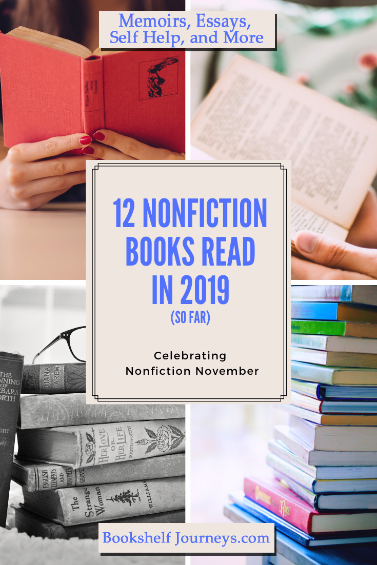 Pinterest image for 12 nonfiction books read in 2019
