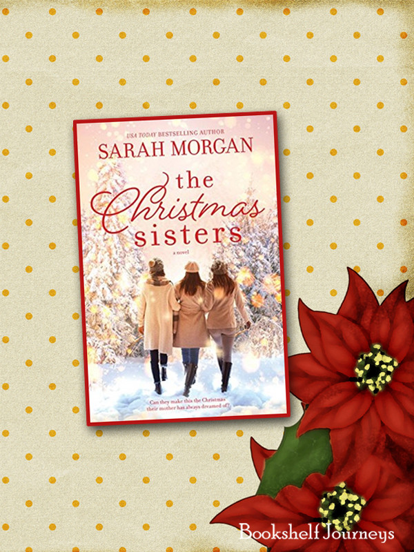 The Christmas Sisters by Sarah Morgan book cover on holiday image