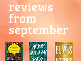 Reading Roundup - a reference list of the 16 books reviewed in September