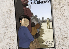 A graphic memoir about the Japanese internment camps, They Called Us Enemy is by actor George Takei