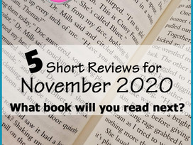 November Mini Reviews