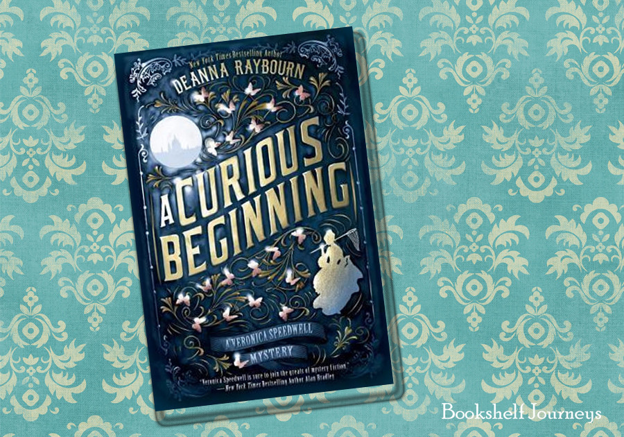 A Curious Beginning by Deanna Raybourn book cover