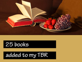 My Virtual Bookshelf - TBR adds for October