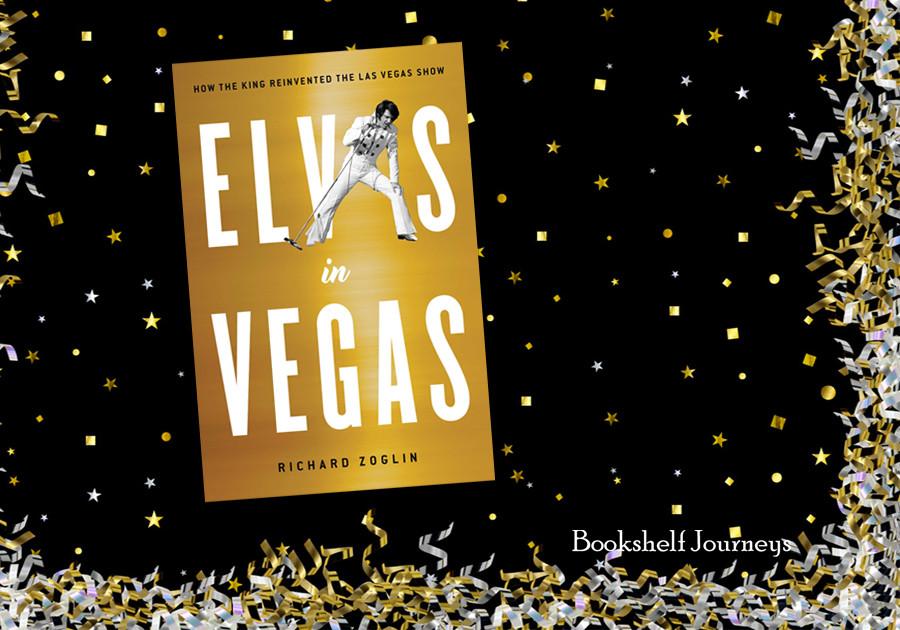 Elvis in Vegas book cover photo