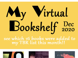 December TBR list - some great titles you might enjoy