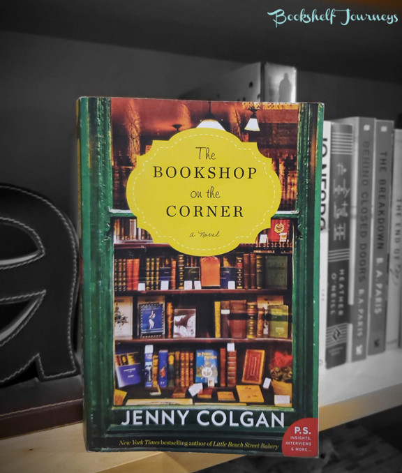 The Bookshop on the Corner book cover over photo