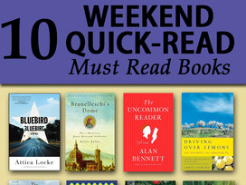 10 Quick Reads - Perfect for a Weekend!