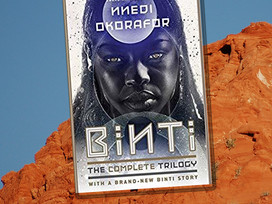 Binti - a sci-fi trilogy about a teen who leaves her world to go to university