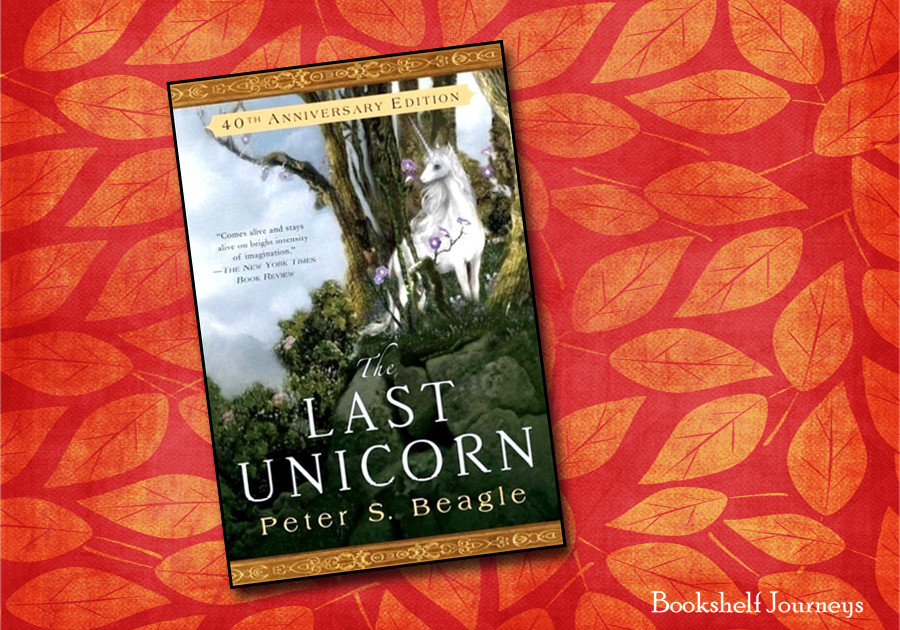 The Last Unicorn book cover image