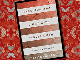 Pale Morning Light With Violet Swan is a novel about an artist, family, and secrets