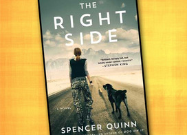 The Right Side: A female soldier returns from war and travels cross country with a found dog