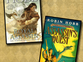 Two books concluding the Farseer trilogy by Robin Hobb