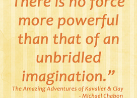 Quote from The Amazing Adventures of Kavalier & Clay