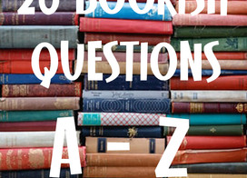 Book Tag: I answer 26 A-Z bookish questions