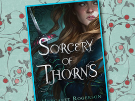 Sorcery of Thorns is a magical YA fantasy that grabs hold and doesn't let go